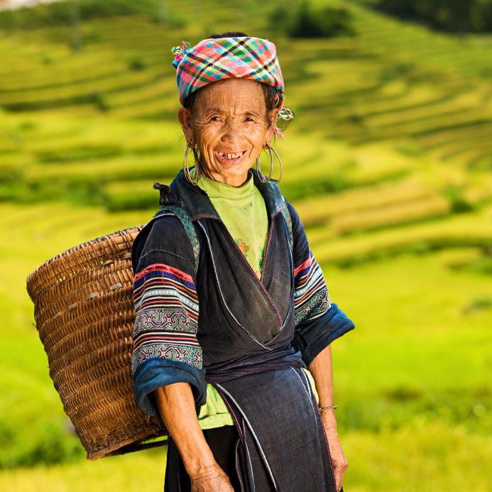 Hmong woman in Vietnam