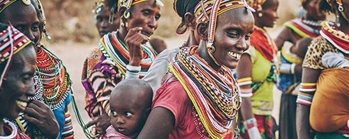 image_African women with baby
