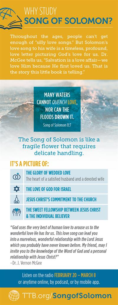 Why Study Song of Solomon